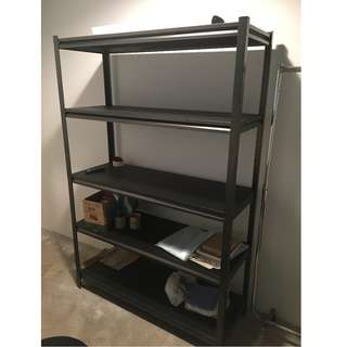 Full metal 5 tiers display or storing rack cabinet for sale