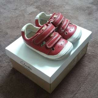 Clarks First Shoes- Tiny Boy