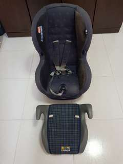 MaxiCosi Baby Car Seat with seat booster