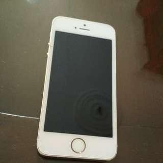 Iphone 5s 16gb/Gold ex wanita (JUAL CEPAT MULUS)