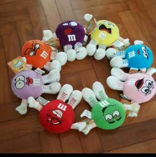 M & M's Minis Characters/Plushies