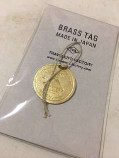 Traveler's Factory Brass Tag 富士山