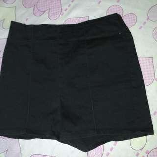 Soft Denim HW Shorts