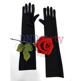 Black Gloves (Long)