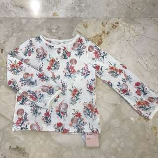 Flower Longsleeves Mothercare size 2 years