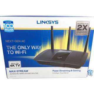 Linksys Max-stream Router