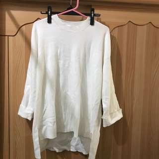 白針織上衣