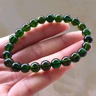 寶石-綠碧璽手串