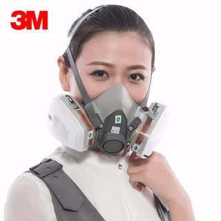 3M Half Facepiece Respirator (suitable for Spray Painting)