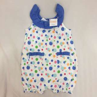Gymboree polka dot romper