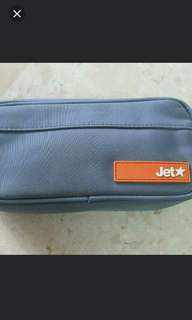 Jetstar Travel Pouch with Accessories