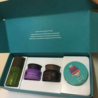 Innisfree 2018 happy birthday gift