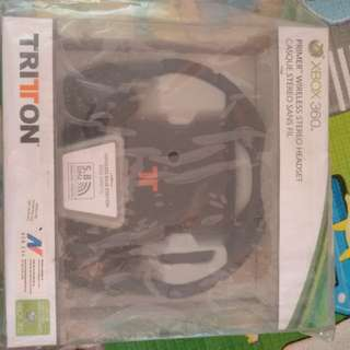 Xbox 360 Triton Premier Wireless Stereo Headset
