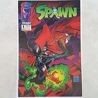 Image Comics Spawn 1 Very Fine Condition First Full Appearance Of Spawn Todd McFarlane Art and Story