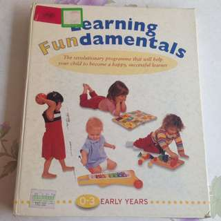 Learning Fundamentals Educational Parenting Book
