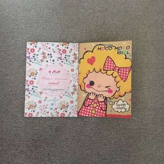 Cute mini A7 notebooks