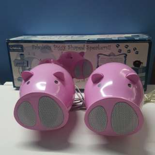 Fabulous Piggy Shaped Speakers