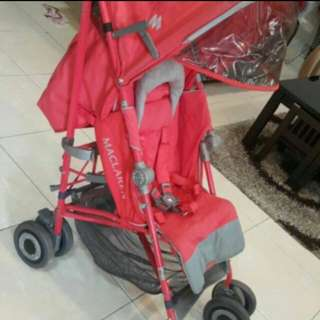 Mc Laren stroller for 2