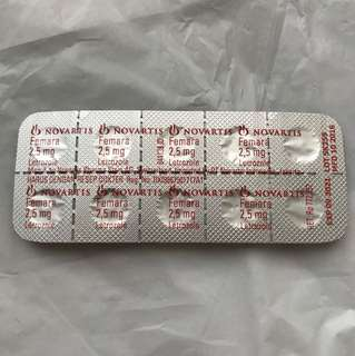 Femara Letrozole 2,5 mg
