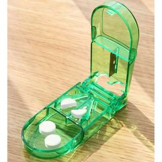 Pill Cutter with Medicine compartment