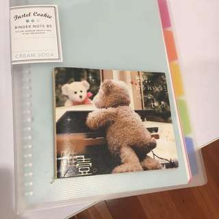 Cute notebook planner small A6 size
