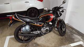 Rare Yamaha RD350LC LC Tong for sale COE 2023