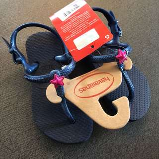 US 9 NEW Havaianas Freedom Sandal toddler