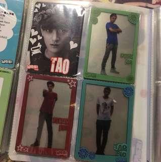 Exo - Yes Card 膠卡