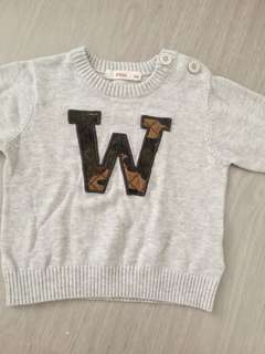 Baby fox sweater