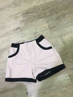 Hollyhoque Baby Pink Shorts