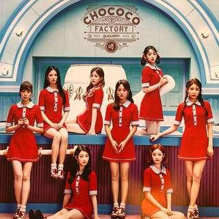 GUGUDAN CHOCOCO FACTORY ~ Official Poster