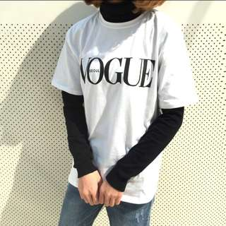 #795 Tumblr Vogue Seoul Minimalist Top