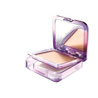 <FREE DELIVERY> Maybelline New York Clear Smooth BB Silk Poreless Whitening UV Lasting Foundation Cake Powder In 03 Natural