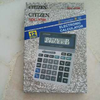 Citizen Calculator 12 digit (SDC-9790)