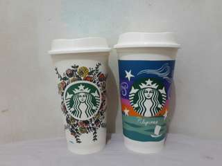Limited Edition Starbuck's Cups (2 for 600)