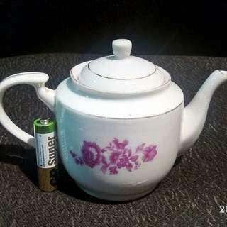 那些年,貼花,小功夫茶壺,一個。