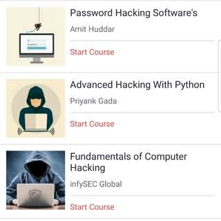 Online Courses (Udemy)