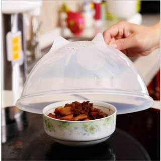 ★Multifunctional Food Cover ★Microwave Oven Oil Cap ★Heated Sealed ★BPA Free ★ 2pcs ★ Ready stock