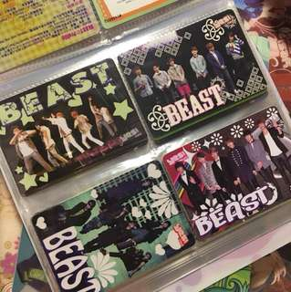 Beast Highlight - Yes Card 膠卡