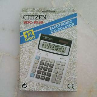 Citizen Electronic calculator 12 digit (SDC-8530)