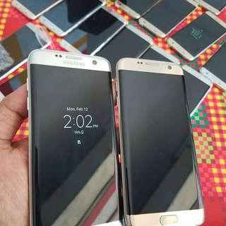 Samsung s7 edge like new fullset
