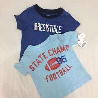 Carter's + Oshkosh shirt set