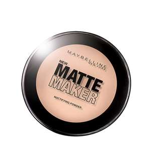 <FREE DELIVERY> Maybelline New York MatteMaker Flawless Finish Sebum COntrol Foundation Powder Compact in 03 Natural Beige