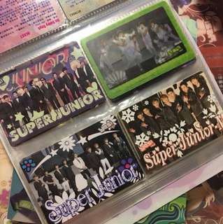 SJ Super Junior  - Yes Card 膠卡