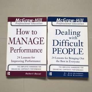 How To Manage Performance & Dealing With Difficult People