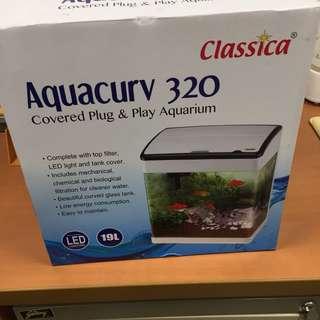 Brand new Classica Aquacurv 320 Fish Tank