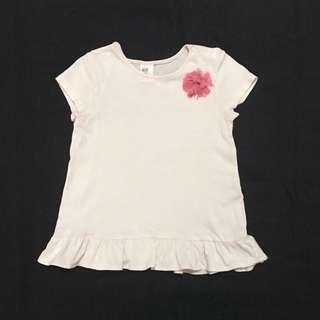 (2Y) H & M Pretty Flower Top
