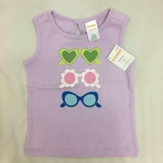 Gymboree lavander sleeveless