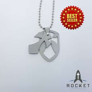 Cross Shield Necklace (Removable) (Available Now)