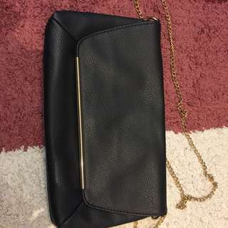 bershka chain bag